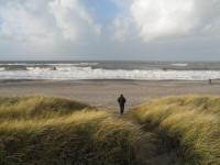 gåtur ved vesterhavet